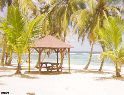 carbet sur la plage