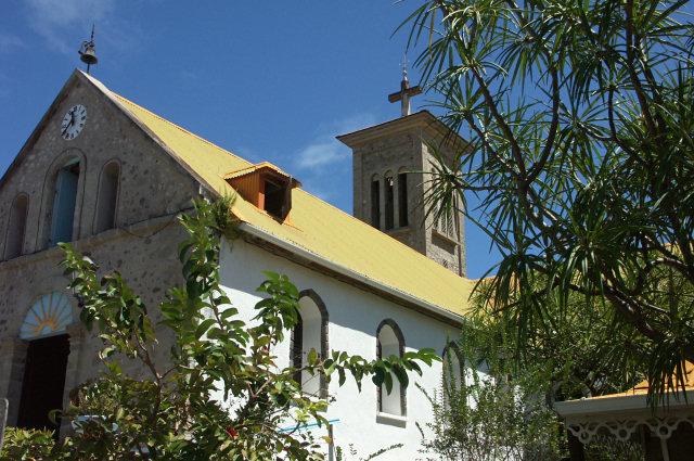 eglise de terre de haut, Guadeloupe